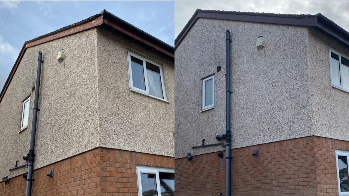 NEW PVC & RENDER CLEAN